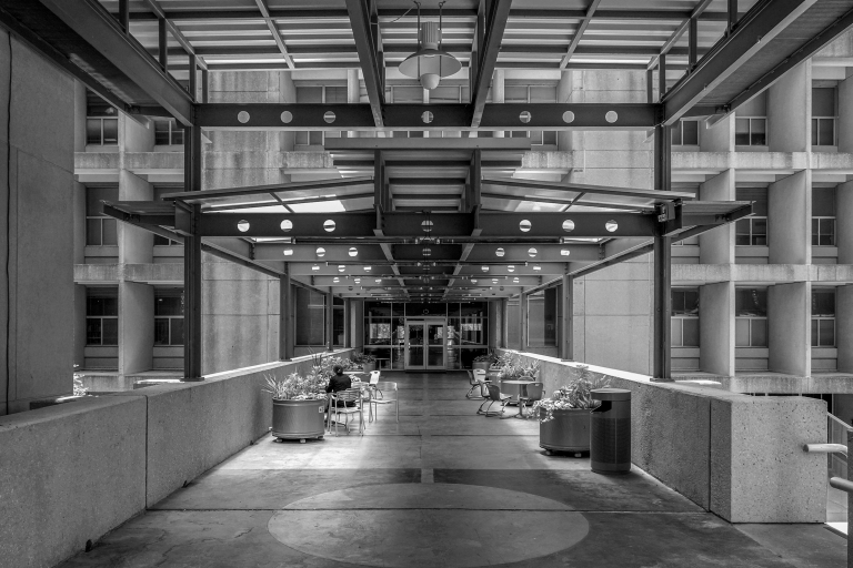 langford architecture center bw