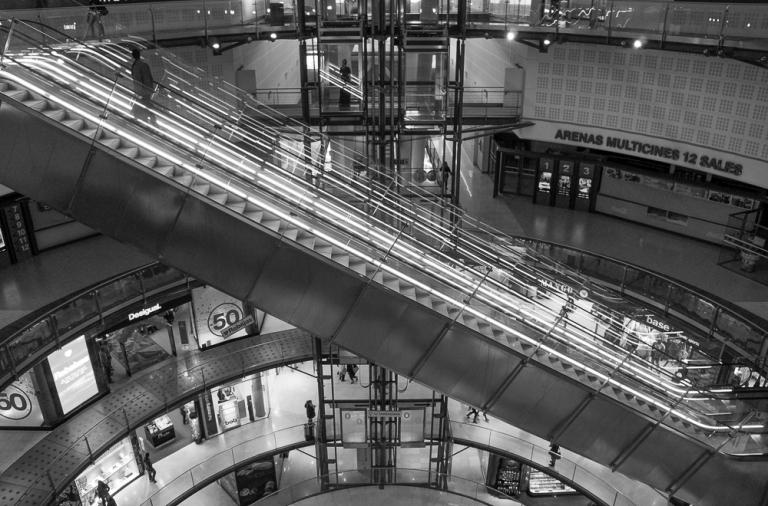 Las Arenas Escalator