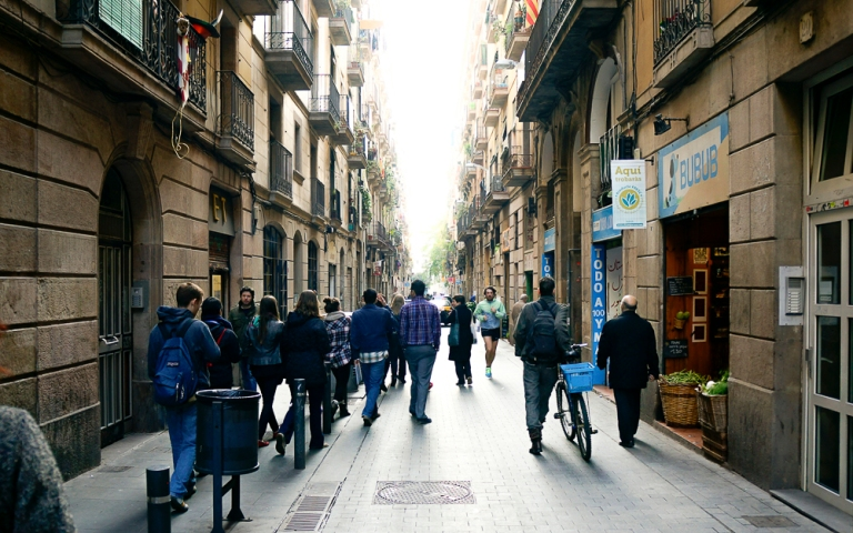 streets or raval